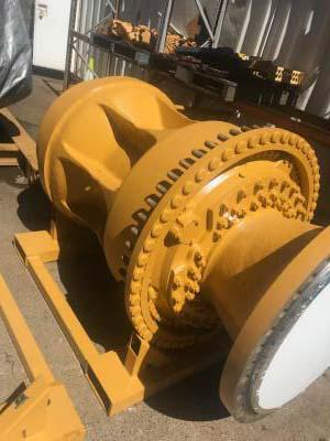 Caterpillar Wheel Group Axle