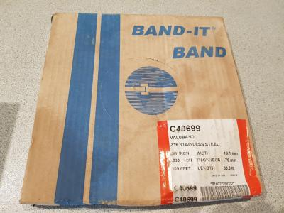 Band it C40699 316 Stainless steel band